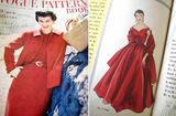 Vogue Special Design s- 4465 Womens Off The Shoulder Full Skirt Ballgown & Stole 1950s Vintage Sewing Pattern Size 14 Bust 32 Inches UNUSED Factory Folded