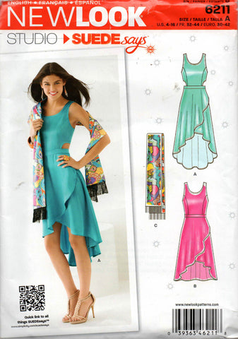 New Look 6211 wrap dress