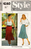 Style 4140 80s gored skirts