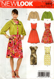 new look 6910 oop dress and bolero