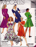 McCall's 5743 Womens Fit and Flare Princess Dress 90s Vintage Sewing Pattern Size 12 14 16 UNCUT Factory Folds
