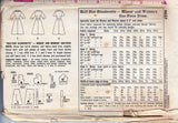 50s Girls Pajamas & Robe Pattern Simplicity 2742 Size 6 Breast 24 inches UNUSED FF
