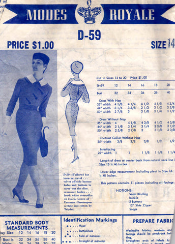 Modes Royale 50s dress