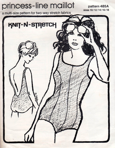 Knit N Stretch 485A swimsuits