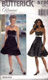 Butterick 5790 90s dress