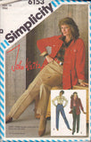 simplicity 6153 80s pants and jacket
