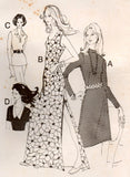 Bevknits 2402 Womens Stretch Knit Tops & Maxi Dresses 70s Vintage Sewing Pattern Size 8 10 12 14 16 18 20 UNCUT Factory Folds