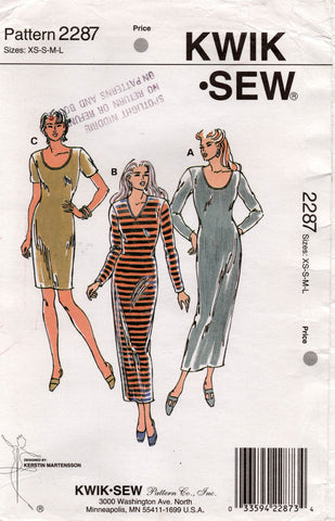 kwik sew 2287 stretch dress