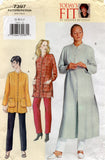 vogue 7397 sandra betzina tunic and pants oop