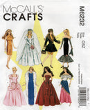 McCall's 6232 dolls clothes