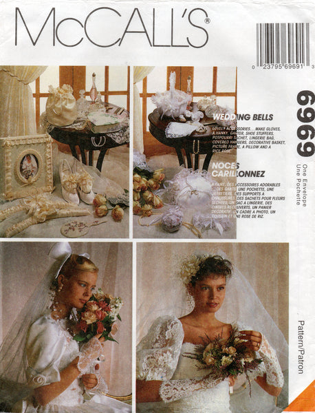 Mccall's 6969 wedding accessories