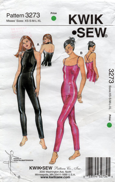 Kwik Sew 3273 oop unitards