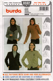 Burda 8592 oop jackets