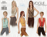 Vogue Basic Design 2563 Womens Evening Tops OOP Sewing Pattern Size 14 16 18