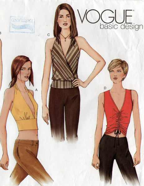vogue 2563 oop tops