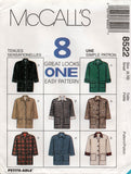 McCall's 8522 90s jackets
