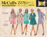 McCall's 2276 Womens Capsule Wardrobe Ensemble 1970s Vintage Sewing Pattern Size 16 Bust 38 inches