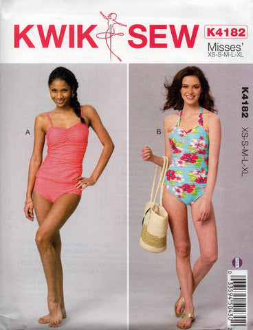kwik sew 4182 retro swimsuits