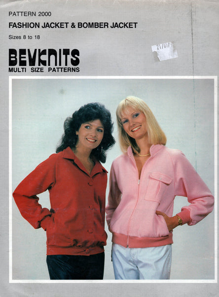 Bevknits 2000 80s womens jackets.