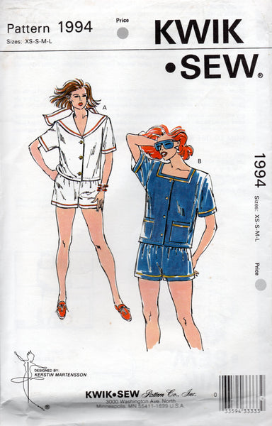 kwik sew 1994 sailor suit