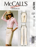 MCall's 6757 palmer pletsch skirt and pants