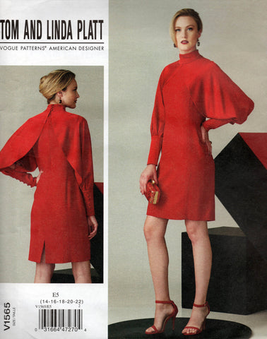 Vogue 1565 Tom and Linda Platt dress