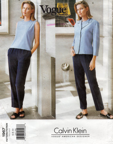 vogue 1967 calvin klein 90s separates