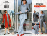 Vogue Career 1902 Womens Office Wear Capsule Wardrobe 90s Vintage Sewing Pattern Size 8 - 12 UNCUT Factory Folds