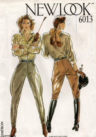 new look 6013 jodhpurs 80s