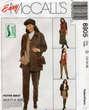 McCall's 8905 jacket vest pants skirt