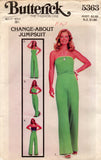butterick 5363 70s convertible jumpsuit