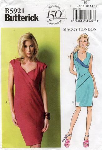 butterick 5921 oop dress