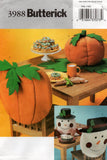 butterick 3988 halloween and xmas decorations