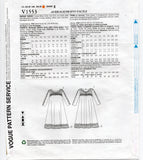 Vogue American Designer V1553 KOOS Womens Embellished Stretch Tent Dress Sewing Pattern Size 6 - 14