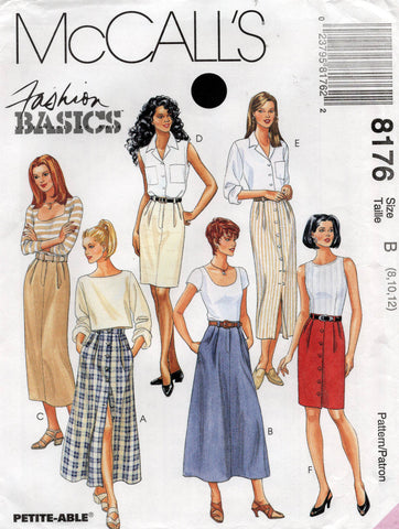 McCall's 8176 90s skirts