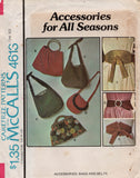 McCall's 4613 70s bags and belts