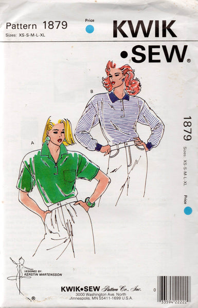 kwik sew 1879 80s polo shirts