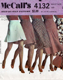 McCall's 4132 70s skirts
