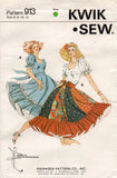 kwik sew 913 square dance dress