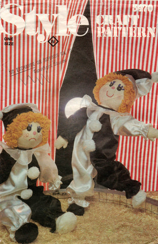 style 3470 clown dolls 80s
