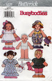 butterick 3221 dolls