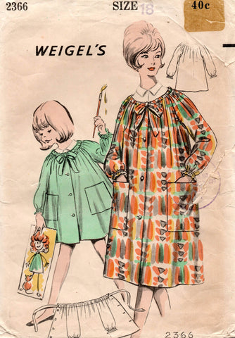 Weigel's 2366 artists smock 60s