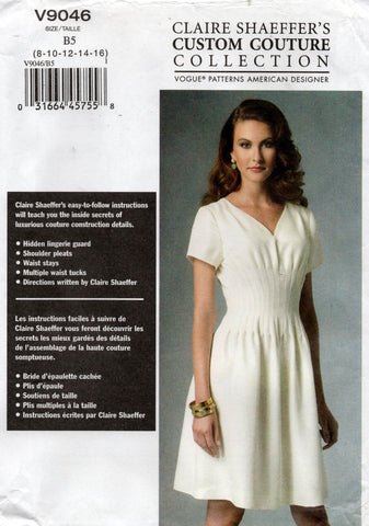 vogue 9046 custom couture oop dress