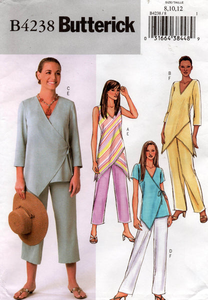 butterick 4238 tops and pants oop