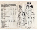 Mail Order 9013 Womens Pullover Shirts 1960s Vintage Sewing Pattern Bust 32 1/2 inches UNUSED Factory Folds
