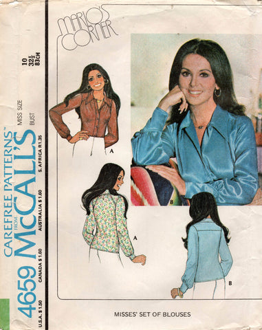 McCall's 4659 70s blouse