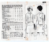 Mail Order 8810 Womens Skirt Suit 1960s Vintage Sewing Pattern Size 16 Bust 38 inches UNUSED Factory Folded