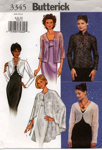 butterick 3345 oop jackets