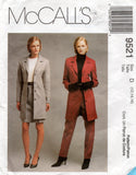 McCall's 9521 90s skirt pants jacket
