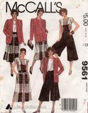 McCall's 9561 80s separates
